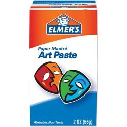 Bulk Buy: Elmers Paper Mache Art Paste 2 Ounces 99000 (3-Pack) by Elmer's
