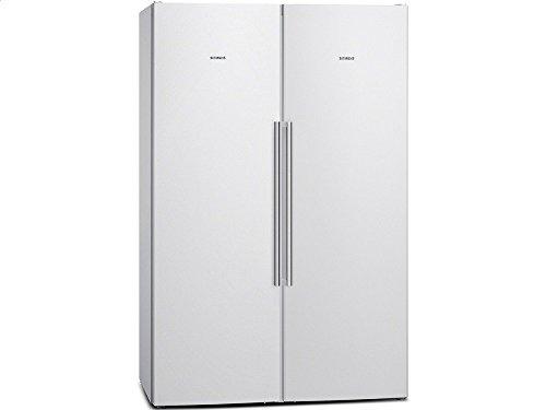 Siemens Kühlschrank Weiß : Siemens ka naw side by side kühl gefrier kombination weiß