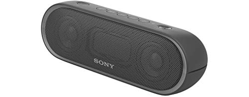 (Sony SRS-XB20/BLK Portable Water-Resistant Wireless Bluetooth Speaker with Extra Bass Technology, Black (Non-Retail)