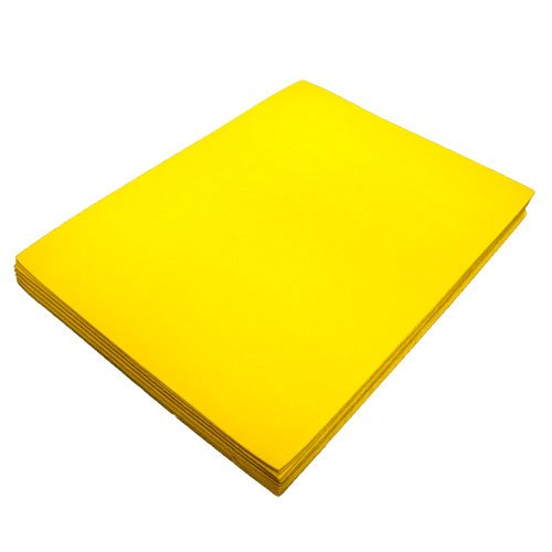 Yellow Fun Foam Sheet 9
