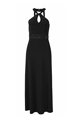 Melrose - Vestido - Noche - Opaco - para mujer negro