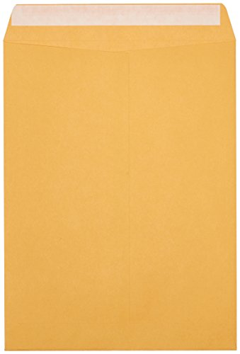 AmazonBasics Catalog Envelopes, Peel & Seal, 9 x 12 Inch, Brown Kraft, 250-Pack Photo #3