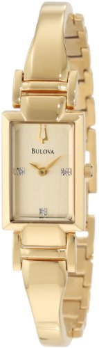 Bulova Women's 97P104 Goldtone Bracelet Watch