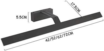 WYZ. Lámpara frontal LED para espejo Nordic, fácil de colocar en el dormitorio, salón, lámpara de pared de baño, resistente al agua y antivaho Vanity [clase energética A +]