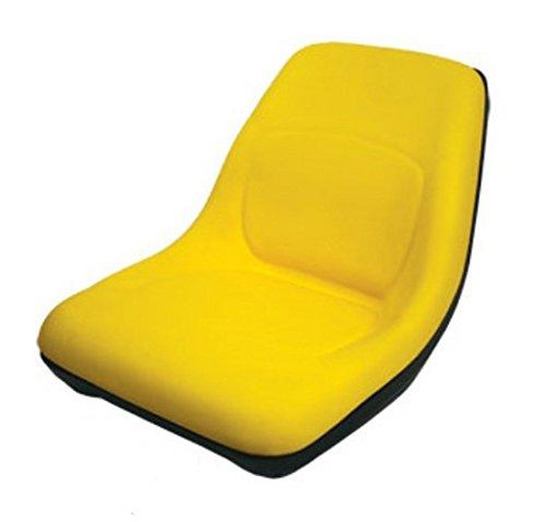 AM126865 Seat High Back Yellow Fits John Deere:LTR155,LTR166,LT133,LT155,LT166, by A&I