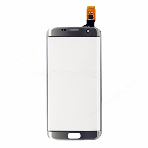 - For Samsung Galaxy S7 Edge Front Cover Digitizer Glass Panel For S7 Edge G935 (NO LCD),silver