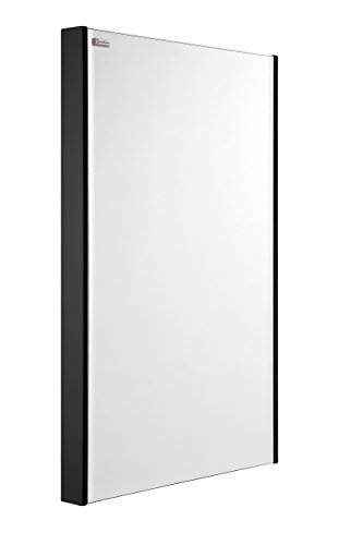 VALENZUELA Bento 20 Inch Bathroom Vanity Mirror, Wall Mount, Slim Frame, Anthracite Finish (VE50V80900) by DAX