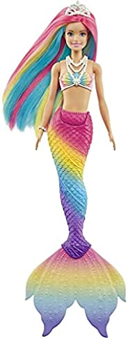Barbie, Mattel, Fan Sereia Muda De Cor, GTF89