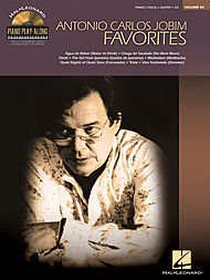 (Hal Leonard Antonio Carlos Jobim Favorites - Piano Play-Along Volume 84 (CD/Pkg) arranged for piano, vocal, and guitar (P/V/G))