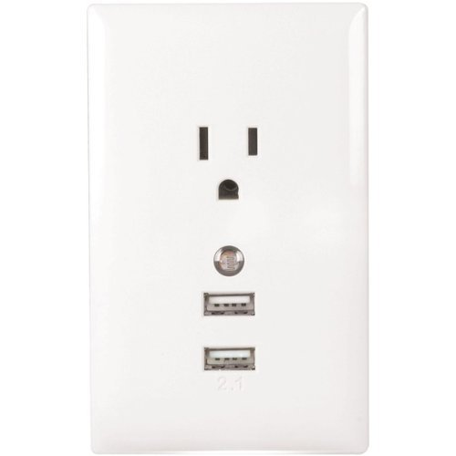USB Wall Plate Charger Nightlight