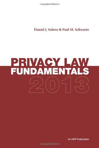 Privacy Law Fundamentals, Second Edition