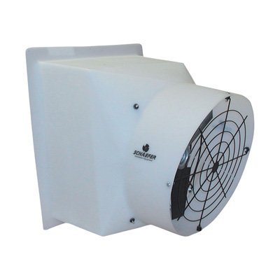 Schaefer High-Velocity Exhaust Fan - 20in., 4966 CFM, 110/220 Volt, Model# ()