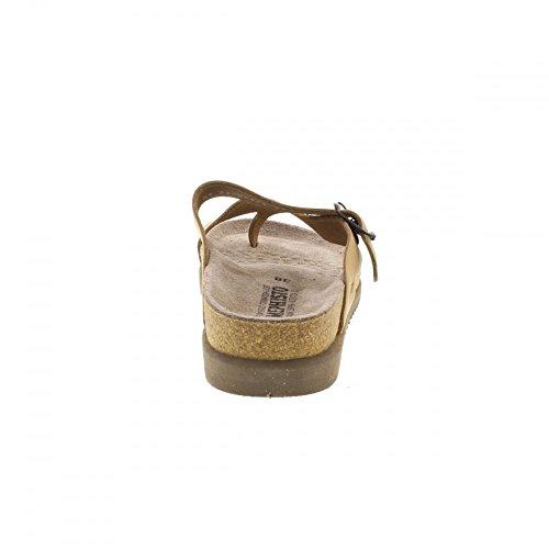 Mephisto HELEN ETNA 7103 GREY P5046230 - Sandalias de cuero para mujer marrón claro