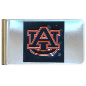 - NCAA Auburn Tigers Steel Money Clip