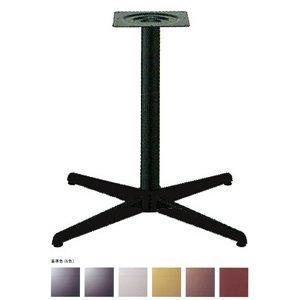 e-kanamono テーブル脚 コルサS2700 ベース500x500 パイプ60.5φ 受座240x240 基準色塗装 AJ付 高さ700mmまで ジービーメタリック B012CF720Q ジービーメタリック ジービーメタリック