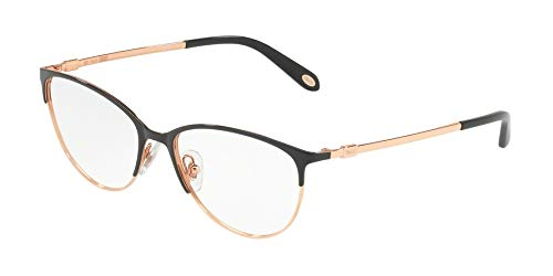 Tiffany & Co. TF1127 - 6122 Eyeglass Frame BLACK/RUBEDO w/ Clear Demo ()