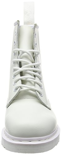 Dr. Martens Unisex 1460 Schnürstiefel mit 8 Schnürsenkeln Weiß