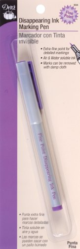 Dritz Disappearing Ink Marking Pen for Sewing, Purple Prym Consumer USA 694