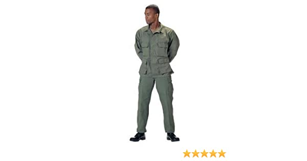 Amazon.com  Fatigues (BDU s) Olive Drab Pants - MED  Military Pants   Clothing a29bffb1f26