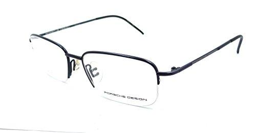 157293b555a9 Porsche Design Rx Eyeglasses Frames P8198 D 52x16 Blue Titanium Made in  Italy