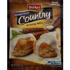 Durkee Sausage Flavor Country Gravy, 2.75oz (6 Pack) by Durkee