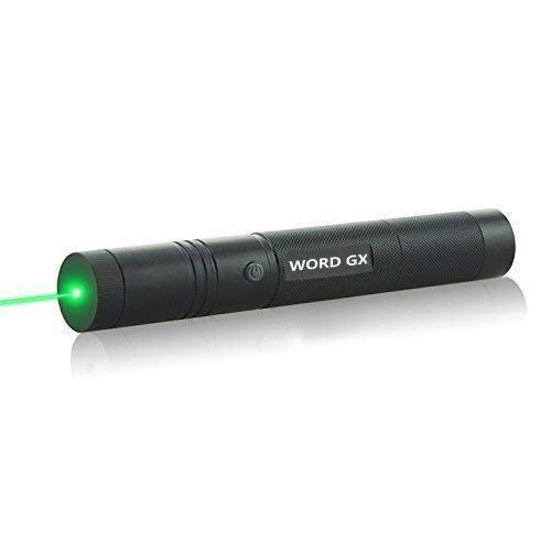 WORD GX laser pointer Tactical Green Hunting Rifle Scope Sight Laser Pen Demo Remote Pen Pointer Projector Travel Outdoor Flashlight LED Interactive Baton Funny Laser - Beams Laser