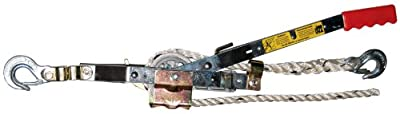 """Maasdam Pow'R Pull A-50 3/4 Ton Capacitty Rope Puller with 50' of 1/2"""" dia. Rope"""