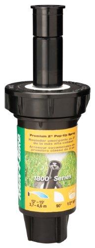 (Rain Bird 1802Q Professional Pop-Up Sprinkler, 90° Quarter Circle Pattern, 8' - 15' Spray Distance, 2
