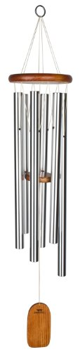 Woodstock Chimes AGLS Amazing Grace Chime, Large, Silver Tubes