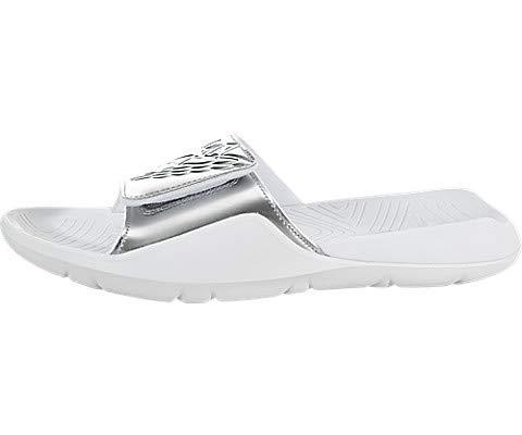 size 40 b44c4 f270c Jordan Air Hydro 7 White/Metallic Silver