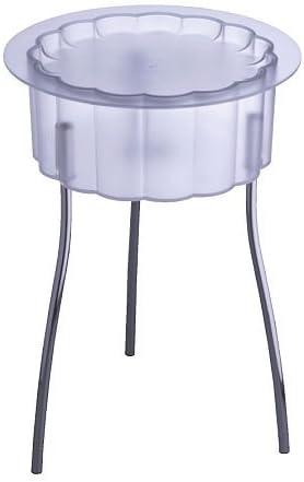 Ikea Hatten - Mesa Auxiliar, Transparentes - 40 cm: Amazon.es: Hogar