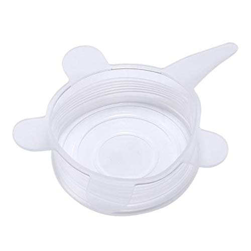 (6pcs Silicone Stretch Lid Cover Stopper Universal Suction Spill Kitchen Cover cooking Cover Lid-bowl Pan Tools Pan)