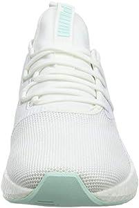 Puma Women s NRGY Neko Sport Wn s White-Fair Aqua Running Shoes-5 ... 4826313a9