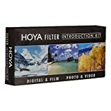 Hoya 58mm (HMC UV / Circular Polarizer / Warm) 3 Introduction Filter Kit with Pouch