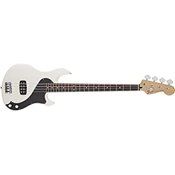 Amazon.com: Fender Standard Dimension Bass IV Olympic White Solid ...