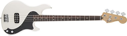 Fender Standard Dimension Bass IV Olympic White Solid-Body Electric Guitar