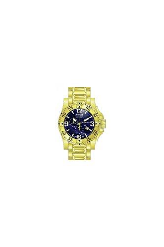 Invicta Men's 80558 Excursion Quartz 3 Hand Blue Dial Watch - Excursion Blue Dial