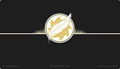 MAX PRO 1 Playmat ICONIC ELEMENTAL WHITE Plains SUN Symbol for MTG Mana FORCE OF WILL Pokemon
