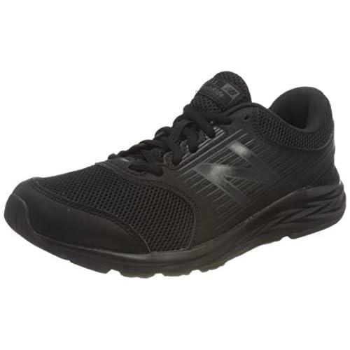 chollos oferta descuentos barato New Balance 411 Zapatillas de Running para Mujer Negro Triple Black 44 EU