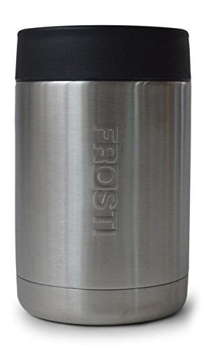 12 oz Can Cooler - Stainless Steel Double Wall Vacuum Insulated