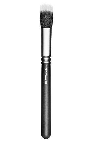 MAC Gleaming Beaming Strobing 188 Small Duo Flat-topped Fibre Face Brush