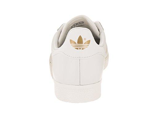 Adidas Kvinners Gaselle W Hvitt Hvitt Gull