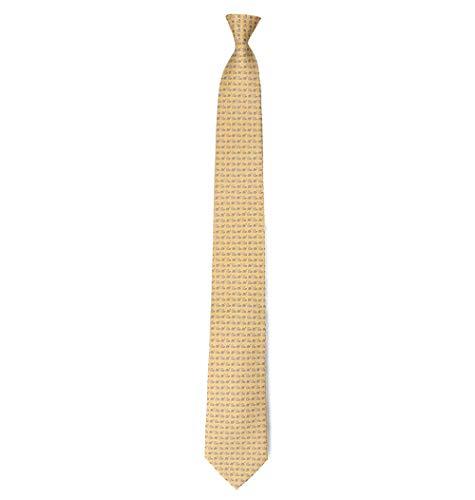 Salvatore Jaune Soie Cravate Ferragamo Homme 696333 WIYEH29D