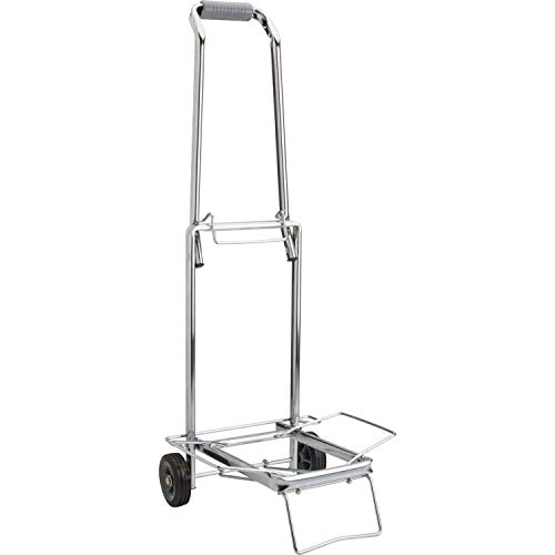 Sparco Compact Luggage Cart, 150 lbs, Capacity, Open 14-3/4 x 13-3/4 x 35 Inches, CE ()