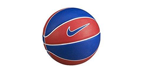 Nike Swoosh Mini–Pallone, misura 3 Rojo (University Red / Game Royal / University Red)