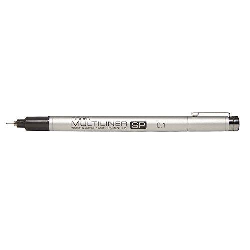 Copic Multiliner SP Black Ink Marker, 0.1 ()