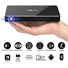 FLOLATIDIA F8 Mini Projector, DLP Led Pico Video Projector For iPhone and Andriod Phone,With 120 inch Display HD Home Theater...