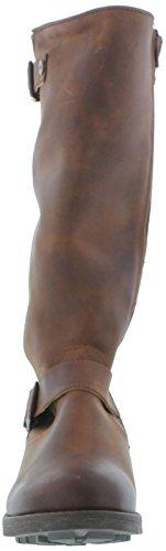 amp; Bridge Cognac Biker style Womens Oak Hyde Boots Cesar dq8IwxZEx