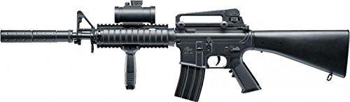 SET: Delta Force M16 AEG ELEKTRISCH Gewehr + G8DS® Zielscheibe
