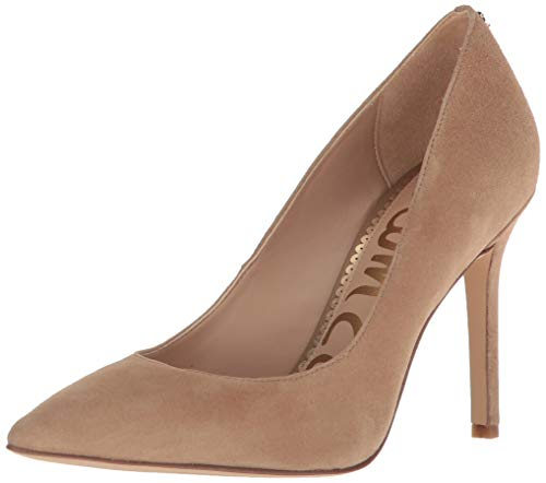 Womens Oatmeal - Sam Edelman Women's Hazel Pump, Oatmeal Suede, 7.5 M US